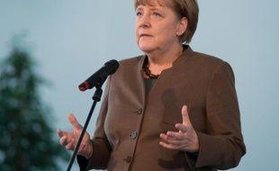La chancelière allemande Angela Merkel, le 18 novembre 2015 à Berlin
