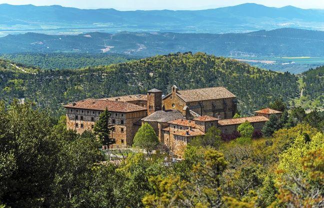 Le monastère de Leyre, en Navarre.