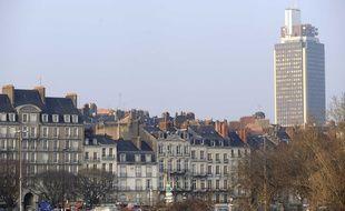 La Tour Bretagne à Nantes.