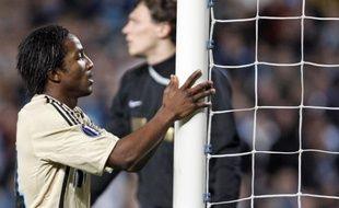 Le Marseillais Baky Koné lors de lors de la défaite de l'OM en coupe UEFA face au Shakhtar Donetsk, le 16 avril 2009.