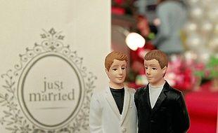 Un salon du mariage gay  aura lieu le 27 avril, à Paris.