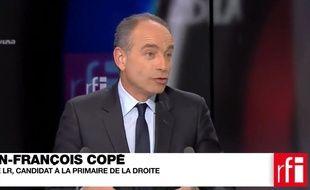 Jean-François Copé sur RFI et France 24.