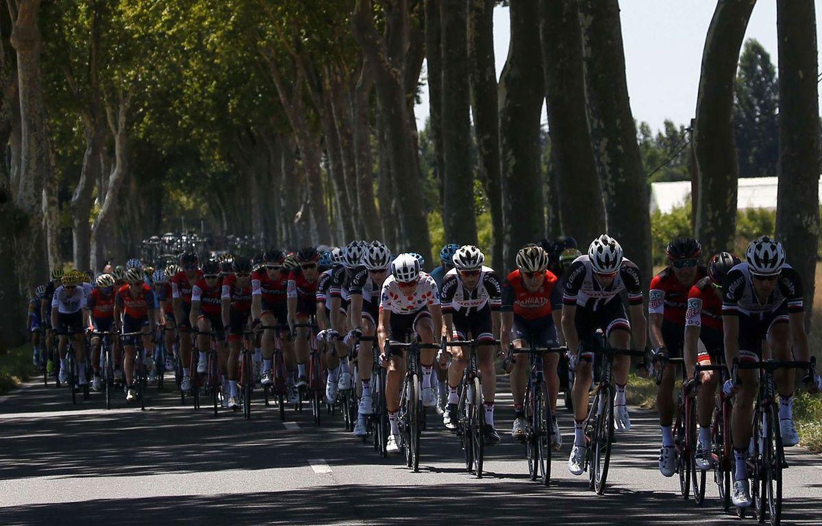 Le peloton sur l'étape vers Rodez – SIPA