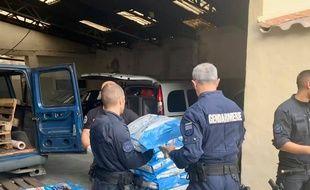 Les gendarmes ont démantelé un trafic de croquettes