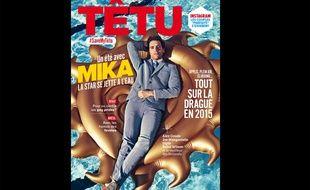 Le numéro de juillet-août 2015 de Têtu.
