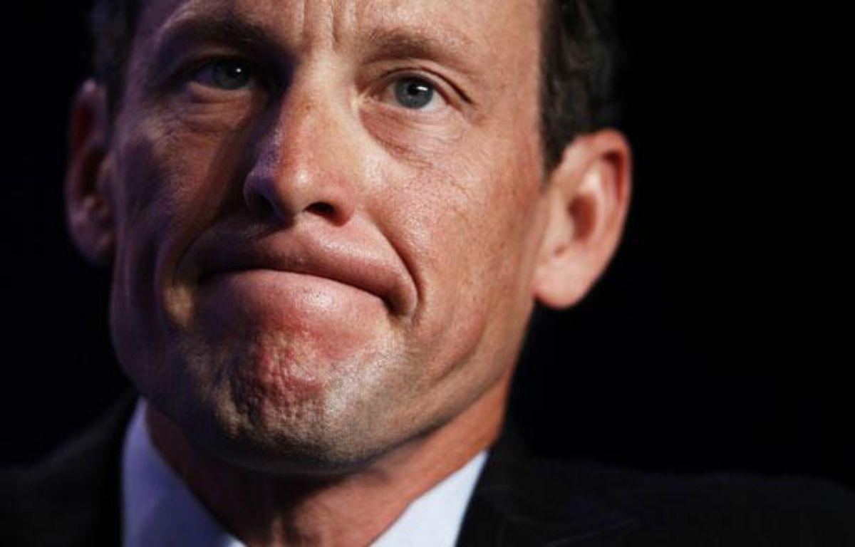 L'ancien coureur cycliste américain Lance Armstrong, le 22 septembre 2010, à New York. – L.JACKSON / REUTERS