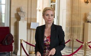 Clémentine Autain à l'Assemblée, le 21 avril 2020.