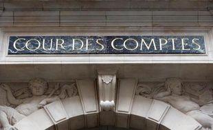 La façade de la Cour des Comptes à Paris