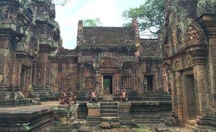 Le site d'Angkor Vat au Cambodge.