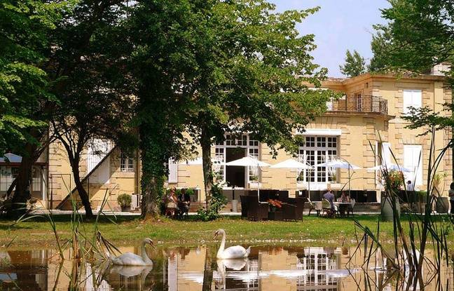 Le pavillon du château Raba à Talence