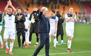 L'entraîneur de l'Atalanta Bergame (Italie), Gian Piero Gasperini, le 1er mars 2020.