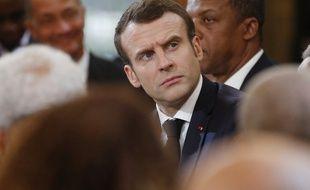 Emmanuel Macron le 1er février 2019 à Paris.