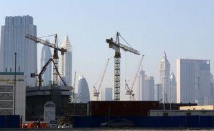 Des sites de construction à Dubaï, le 27 avril 2016