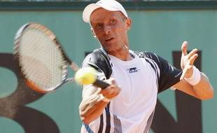 Nikolay Davydenko, le 25 mai 2009 à Roland-Garros.