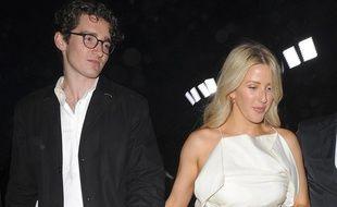 Le marchand d'art Caspar Jopling et la chanteuse Ellie Goulding