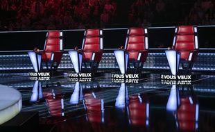 Les fauteuils des coachs de «The Voice».