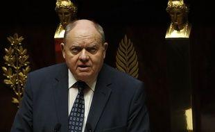 René Dosière à l'Assemblée nationale, le 22 février 2017.