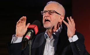 Jeremy Corbyn, le chef du Parti travailliste, le 14 octobre 2019.