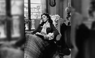 Jennifer Jones interprète Emma Bovary, en 1949.
