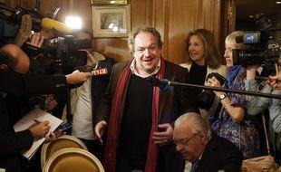 Remise du prix Goncourt 2015.