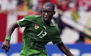 Les joueurs de l'équipe natioanle du Togo, le 6 septembre 2009.