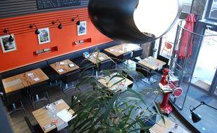 Le M Restaurant, à Lyon.