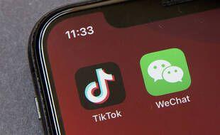 L'application WeChat, appartenant à un groupe chinois, est dans le viseur de l'administration Trump.