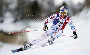 Alexis Pinturault, sur les pentes de Val d'Isère.