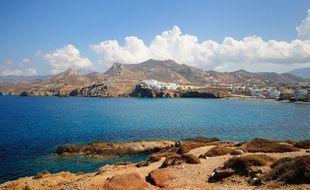 L'île de Naxos, en Grèce (illustration).