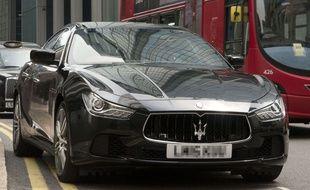 Une Maserati Ghibli (illustration)