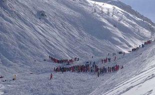 Une avalanche a eu lieu ce mardi matin à Tignes en Savoie. Illustration.