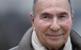 Serge Dassault, le 2 mars 2012 à Vélizy Villacoublay.