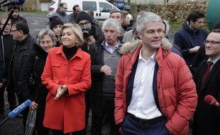 Valérie Pécresse et Laurent Wauquiez.