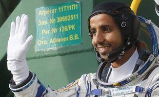 L'astronaute émirati Hazza Al Mansouri.