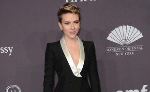 Scarlett Johansson au gala de l'amfAR
