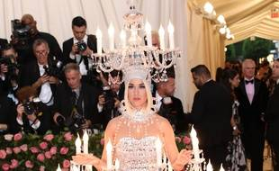 La chanteuse Katy Perry au Met Gala 2019