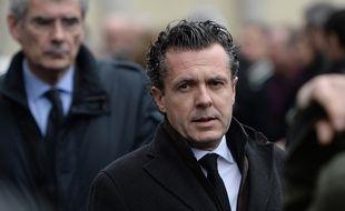 Christophe Béchu, le 8 mars 2017, à Angers.