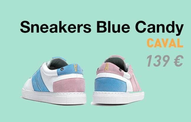 Sneakers Blue Candy, Caval