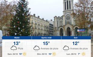 Météo Saint-Etienne: Prévisions du vendredi 23 octobre 2020