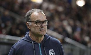 L'entraîneur de foot, Marcelo Bielsa, lors de son dernier match avec le Losc, en novembre 2017.