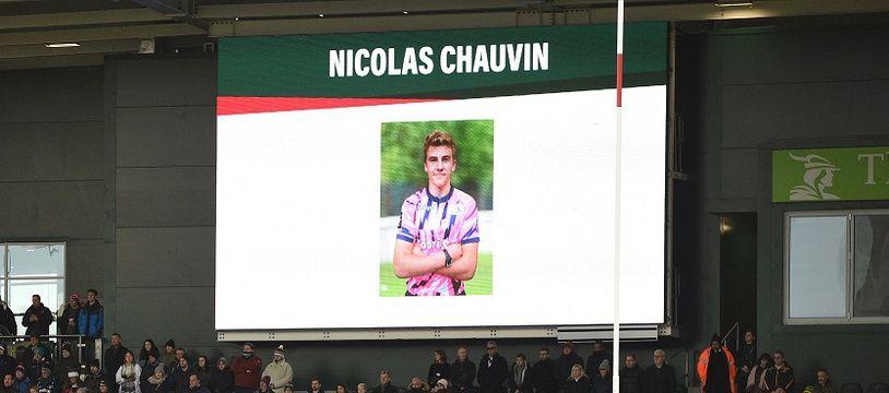 Nicolas Chauvin est décédé le 12 décembre 2018 d'un traumatisme cervical après un plaquage.