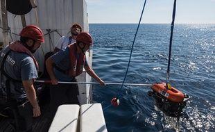 Mercredi, sur le navire André Malraux