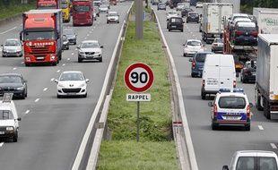 Sur le périphérique Sud de Lille, la vitesse va passer de 90km/h à 70km/h.