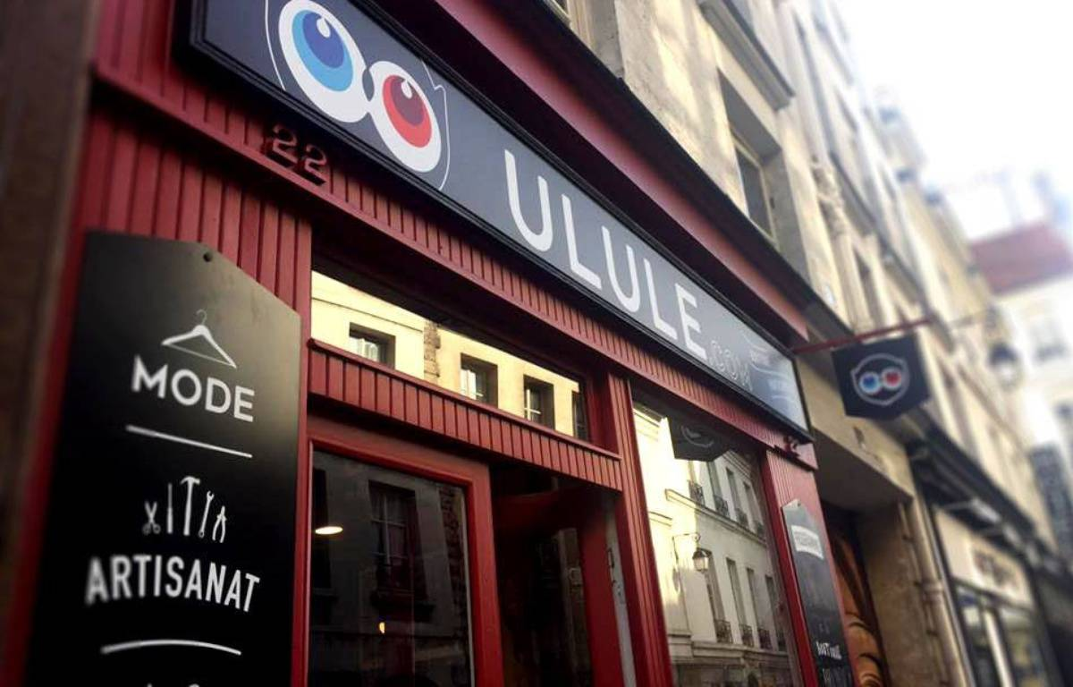 La boutique Ulule, rue Saint Paul à Paris. – Nicolas Sadoc