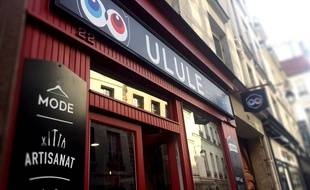 La boutique Ulule, rue Saint Paul à Paris.