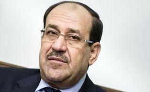 Nouri al-Maliki, le 23 juin 2014 à Bagdad