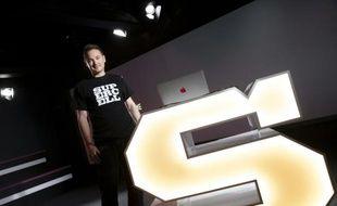 Ilkka Paananen, patron de Supercell, concepteur finlandais de jeux vidéo pour smartphones, à Helsinki le 21 juin 2016