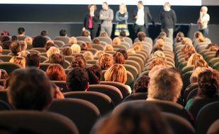 Illustration d'une salle de cinéma, ici à Rennes.