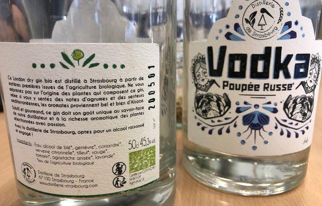 Les étiquettes ont été dessinées par une artiste strasbourgeoise, AnK von Annika.