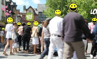 Les habitants de Rennes semblent particulièrement heureux de travailler dans la capitale bretonne. Et vous ?